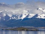Port of Ushuaia  Tierra Del Fuego  Patagonia  Argentina  South America