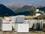 Carrara Marble  Tuscany  Italy  Europe