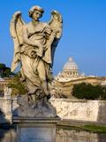 Vatican and River Tiber  Rome  Lazio  Italy  Europe