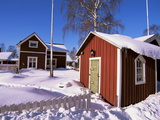 Gammelstad (Lulea Old City) UNESCO World Heritage Site  Lapland  Sweden  Scandinavia  Europe