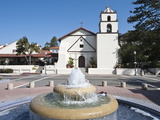 Old Mission San Buenaventura  Ventura  California  United States of America  North America