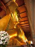 Reclining Buddha  Wat Pho  Bangkok  Thailand  Southeast Asia  Asia