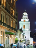 Old Town  UNESCO World Heritage Site  Quito  Ecuador  South America