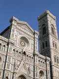 Duomo and Campanile (Cathedral and Bell Tower)  Florence  UNESCO World Heritage Site  Italy
