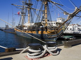 Hms Surprise at the Maritime Museum  Embarcadero  San Diego  California  USA
