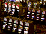 Casino Slot Machines  Las Vegas  Nevada  United States of America  North America