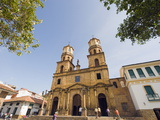 The 18Th Century Cathedral  San Gil  Colombia  South America