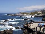 Martianez Lido  Puerto De La Cruz  Tenerife  Canary Islands  Spain  Atlantic  Europe