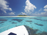 Desert Island  Baa Atoll  the Maldives  Indian Ocean  Asia