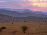 Sunset Over Escarpment Near Blyde River Canyon  Mpumalanga  South Africa  Africa