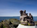 Monument  Nuuk  Greenland  Arctic  Polar Regions