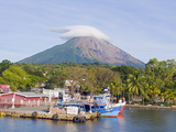 Harbour Below Volcan Concepcion  1610M  Ometepe Island  Lake Nicaragua  Nicaragua  Central America