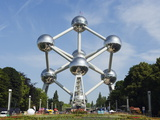 1958 World Fair  Atomium Model of An Iron Molecule  Brussels  Belgium  Europe