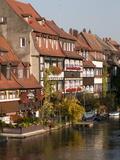 Klein-Venedig (Little Venice)  Bamberg  Bavaria  Germany  Europe