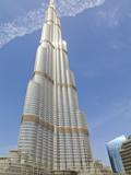 Burj Khalifa  the Tallest Building in the World at 828 Metres  Dubai  Uae