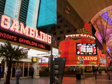 Neon Sign on Fremont Street  Las Vegas  Nevada  United States of America  North America