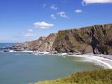 Cliffs at Hartland Quay  Devon  England  United Kingdom  Europe