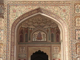 Ganesh Bol Gate  Amber Fort Palace  Jaipur  Rajasthan  India  Asia