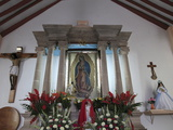 Guadalupe Chapel  Church of Ojeda  a Major Pilgrimage Site  Taxco  Guerrero State  Mexico