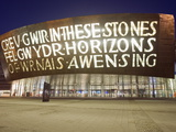 Wales Millennium Centre  Cardiff Bay  Cardiff  Wales  United Kingdom  Europe