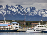 Port of Ushuaia  Tierra Del Fuego  Patagonia  Argentina  South America