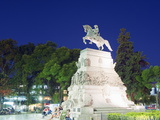 Statue of General Jose De San Martin  Plaza San Martin  Cordoba  Argentina  South America