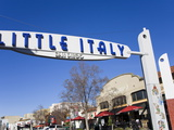 Gateway Arch in Little Italy  San Diego  California  United States of America  North America