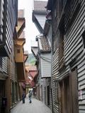 Bryggen  UNESCO World Heritage Site  Bergen  Norway  Scandinavia  Europe