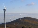 Wind Farm  Pontevedra Area  Galicia  Spain  Europe
