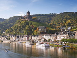Reichsburg Castel  Cochem  Moselle River  Rhineland-Palatinate  Germany  Europe