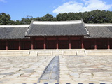 Jongmyo  Royal Shrine  UNESCO World Heritage Site  Seoul  South Korea  Asia