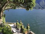 View From Villa Balbianello  Lenno  Lake Como  Lombardy  Italy  Europe
