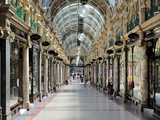 Interior of Cross Arcade  Leeds  West Yorkshire  England  Uk