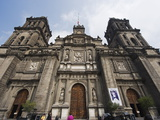 Cathedral Metropolitana  District Federal  Mexico City  Mexico  North America