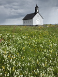 Strandakirkja Church Near Grindavik  Iceland  Polar Regions