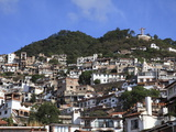 Christ Statue  Taxco  Colonial Town Well Known For Its Silver Markets  Guerrero State  Mexico