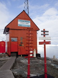 Argentina Research Station  Paradise Bay  Antarctic Peninsula  Antarctica  Polar Regions