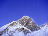 Stars Above Mount Everest  8850M  Solu Khumbu Everest Region  Sagarmatha National Park  Himalayas