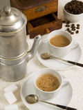 Neapolitan Coffee  Neapolitan Coffee Machine and Coffee Grinder  Naples  Campania  Italy  Europe