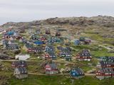 Village of Ammassalik  Greenland  Arctic  Polar Regions
