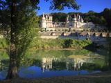 Chateau D'Usse on the Indre River  Rigne-Usse  Indre Et Loire  Loire Valley  France  Europe