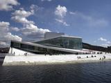 Opera House  Oslo  Norway  Scandinavia  Europe