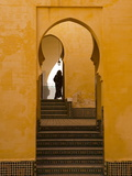 Mausoleum of Moulay Ismail  Meknes  Morocco  North Africa  Africa