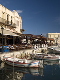 Old Venetian Harbor  Rethymno  Crete  Greek Islands  Greece  Europe