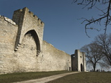 Fortified Wall and Entrance to the Medieval Town of Visby  Gotland Island  Southern Sweden