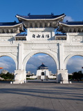 Chiang Kai Shek Memorial Hall Arch  Taipei  Taiwan  Asia