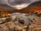 Glencoe  Highlands  Scotland  Uk