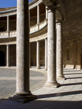 Palace of Charles V  Alhambra Palace  UNESCO World Heritage Site  Granada  Andalucia  Spain  Europe