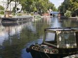 Little Venice  Paddington  London  England  Uk