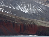 Rock Cliffs  Deception Island  South Shetlands  Antarctic  Polar Regions